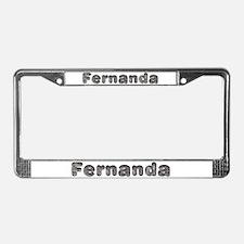 Fernanda Wolf License Plate Frame