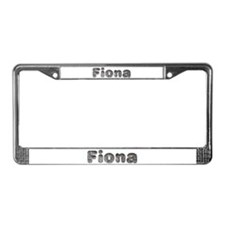 Fiona Wolf License Plate Frame