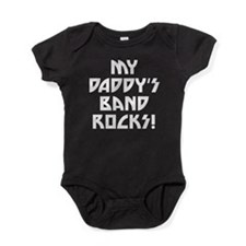 My Daddys Band Rocks Baby Bodysuit