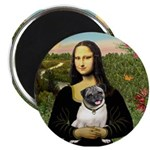 Mona's Fawn Pug Magnet
