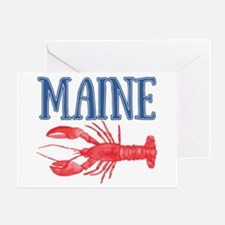 Maine Lobster Greeting Card