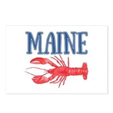 Maine Lobster Souvenir Postcards (Package of 8)