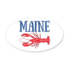 Maine Lobster Souvenir Oval Car Magnet