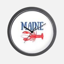 Maine Lobster Wall Clock