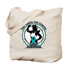Gynecologic Cancer Tough Tote Bag