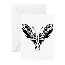 BUTTERFLY 4 Greeting Cards (Pk of 10)