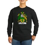 Triggs Family Crest Long Sleeve Dark T-Shirt