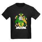 Triggs Family Crest Kids Dark T-Shirt