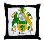 Triggs Family Crest Throw Pillow