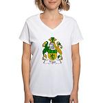 Triggs Family Crest Women's V-Neck T-Shirt