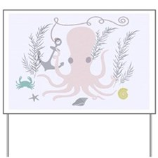 The Domain of the Pink Octopus Yard Sign