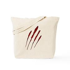 Claw Mark Victim Tote Bag