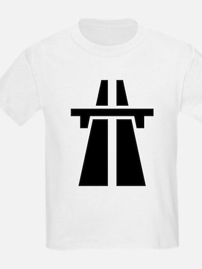 Motorway/Autobahn Symb T-Shirt