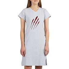 Claw Mark Victim Women's Nightshirt