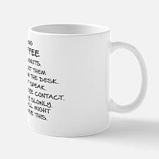 BRING COFFEE AND DONUTS Mug