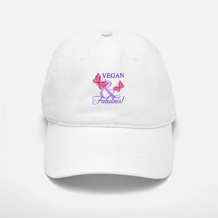 Vegan and Fabulous Baseball Baseball Cap