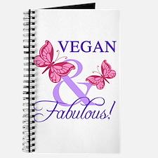 Vegan and Fabulous Journal