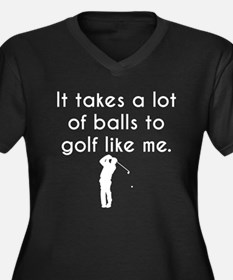 Golf Like Me Plus Size T-Shirt