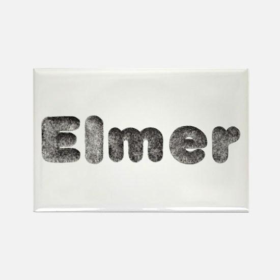 Elmer Wolf Rectangle Magnet