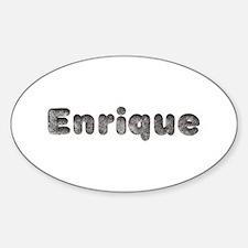 Enrique Wolf Oval Bumper Stickers