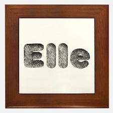 Elle Wolf Framed Tile