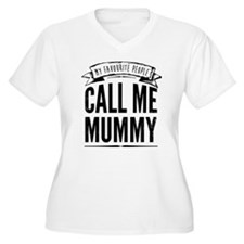 Call me mummy Plus Size T-Shirt