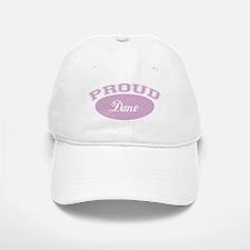 Proud Dane (pink) Baseball Baseball Cap
