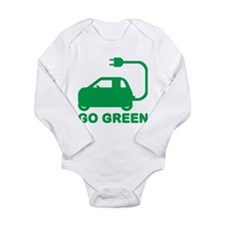 Go Green ~ Drive Electric Cars Body Suit
