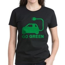 Go Green ~ Drive Electric Cars T-Shirt