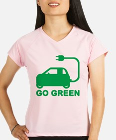 Go Green ~ Drive Electric Cars Performance Dry T-S