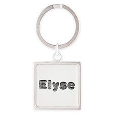 Elyse Wolf Square Keychain