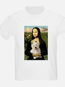 Mona Lisa & West Hightland T-Shirt