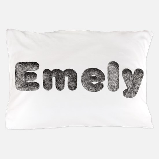 Emely Wolf Pillow Case