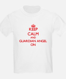 Keep Calm and Guardian Angel ON T-Shirt
