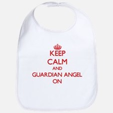 Keep Calm and Guardian Angel ON Bib