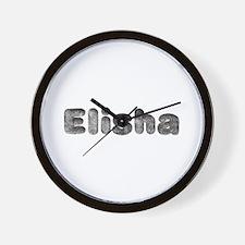 Elisha Wolf Wall Clock