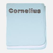 Cornelius Wolf baby blanket