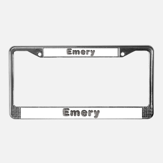 Emery Wolf License Plate Frame