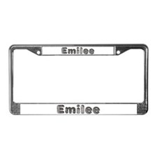 Emilee Wolf License Plate Frame