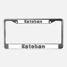 Esteban Wolf License Plate Frame