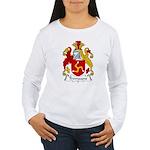 Tremayne Family Crest Women's Long Sleeve T-Shirt