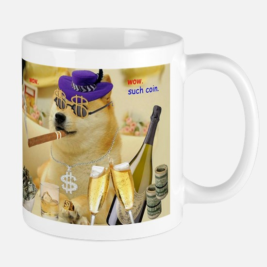 doge coin such coin Mugs