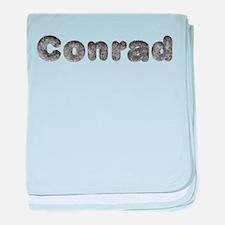 Conrad Wolf baby blanket