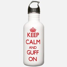 Keep Calm and Guff ON Water Bottle