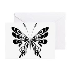 BUTTERFLY 5 Greeting Cards (Pk of 10)