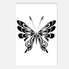 BUTTERFLY 5 Postcards (Package of 8)