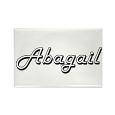 Abagail Classic Retro Name Design Magnets
