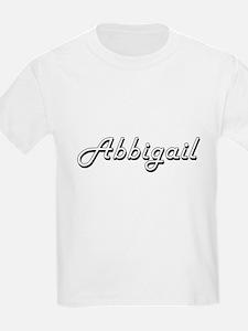 Abbigail Classic Retro Name Design T-Shirt