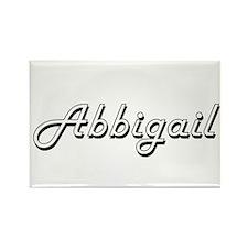 Abbigail Classic Retro Name Design Magnets