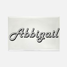 Abbigail Classic Retro Name Design Magnets